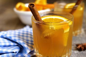 オレンジとシナモンのデトックスウォーターイメージ