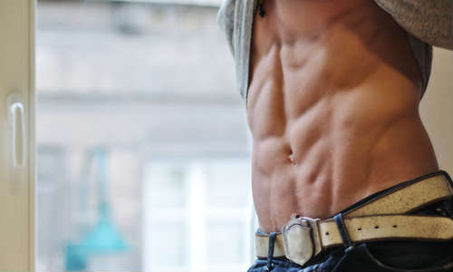 40代男性口コミの腹筋の画像