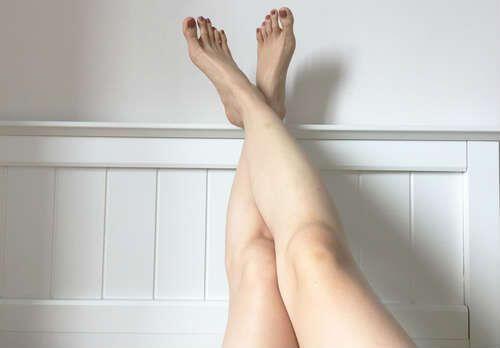 30代女性のクチコミの足の写真