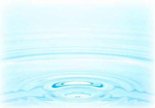 水の波紋の写真