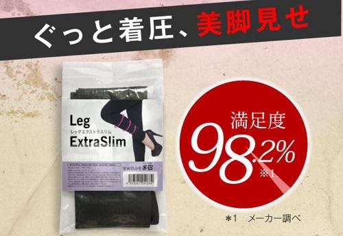 満足度98.2%の円グラフ